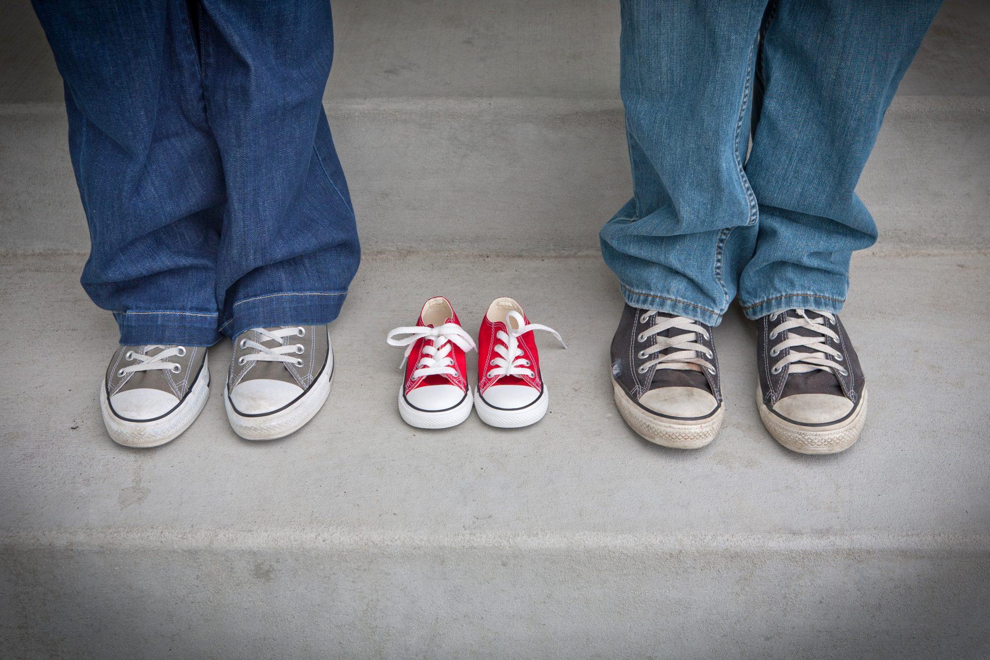 Das Paar in den Eltern